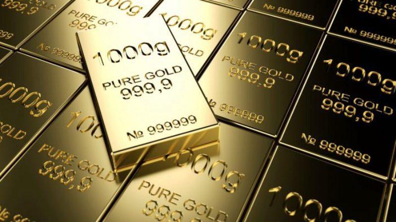 Harga emas menembus level krusial $1.200 dan membuka peluang koreksi hingga ke $1.180 per troy ons. (Lukman Hqeem)