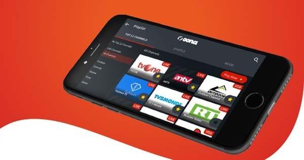 OONA TV, hadir untuk memenuhi kebutuhan hiburan generasi millenial. (Lukman Hqeem)