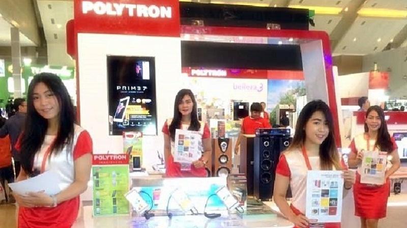Polytron Dinobatkan Sebagai Indonesia Champion di ASEAN Marketing Summit 2018.(Lukman Hqeem)