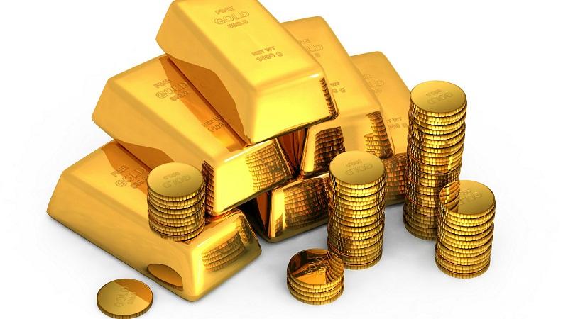 Harga emas naik moderat saat kenaikan dolar AS tertahan.