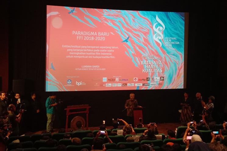 23 Piala Citra dalam Festival Film Indonesia 2018 akan berlapis emas.