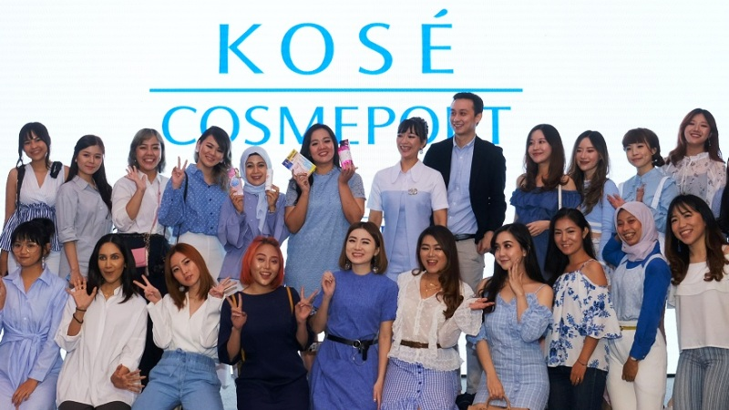 Launching KOSE Cosmeport Indonesia - Influencers dan Bloggers