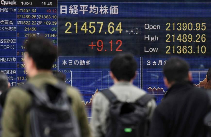 Aksi saling serang AS-China lemahkan bursa Asia