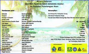 Forum Sastrawan Indonesia & Betawi Cinta Damai Gelar Sastra Pantai dan Kerang Hijau 11