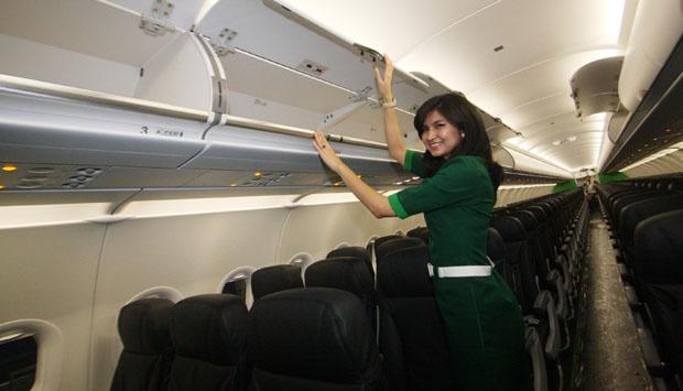Pemerintah tetapkan tarif tiket peswat separuh harga batas atas pada penerbangan di hari jam tertentu. (Foto Istimewa)