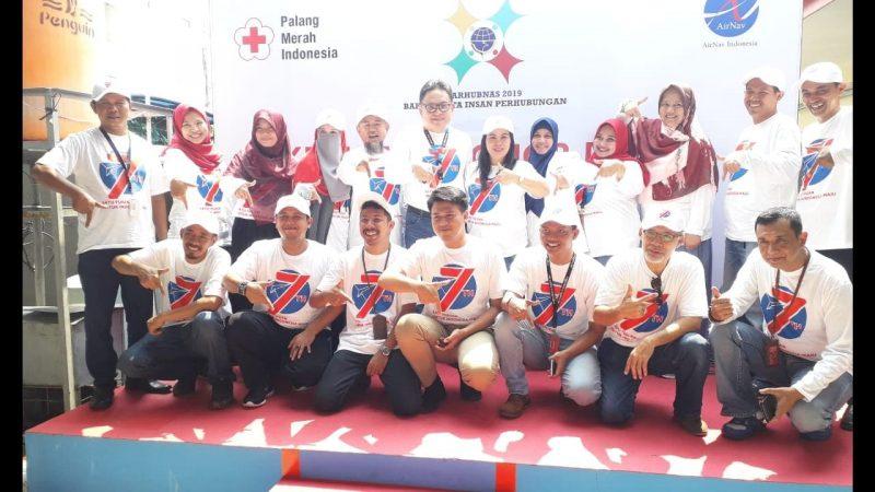 Peringati HUT ke-7, Airnav Indonesia Mengadakan Kegiatan Donor Darah 3