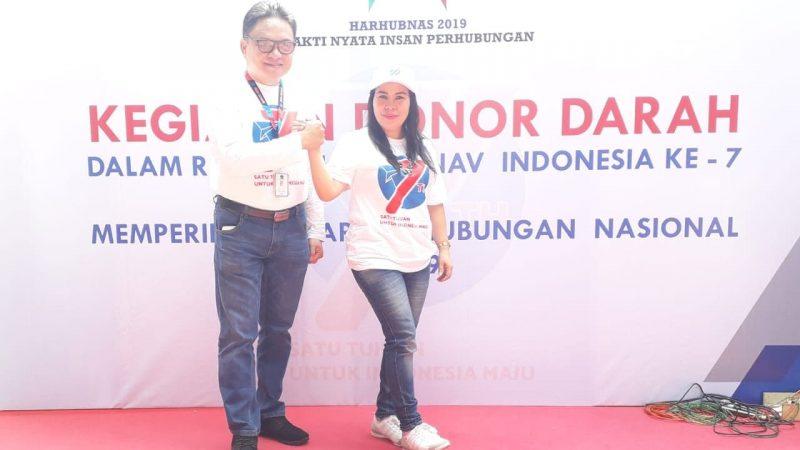 Peringati HUT ke-7, Airnav Indonesia Mengadakan Kegiatan Donor Darah 1