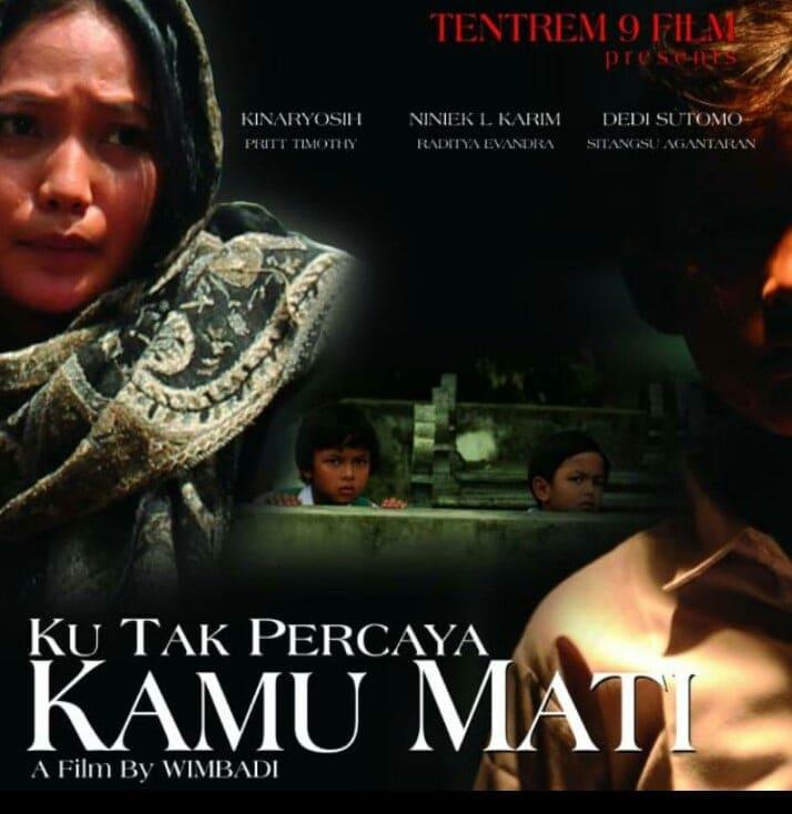 Garap Film 'Ku Tak Percaya Kamu Mati', Wimbadi Ungkap Peristiwa Nyata Paska Gempa Jogja 1