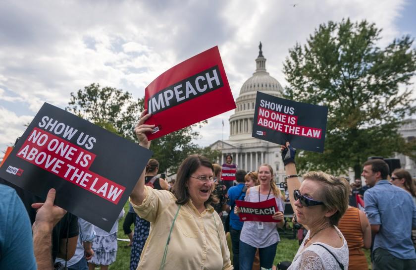 Dukungan Impeachment Trump Meningkat