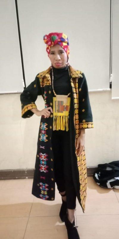 Fashion Designer Sandra Novita Lola Peduli Adat Budaya NTT 1