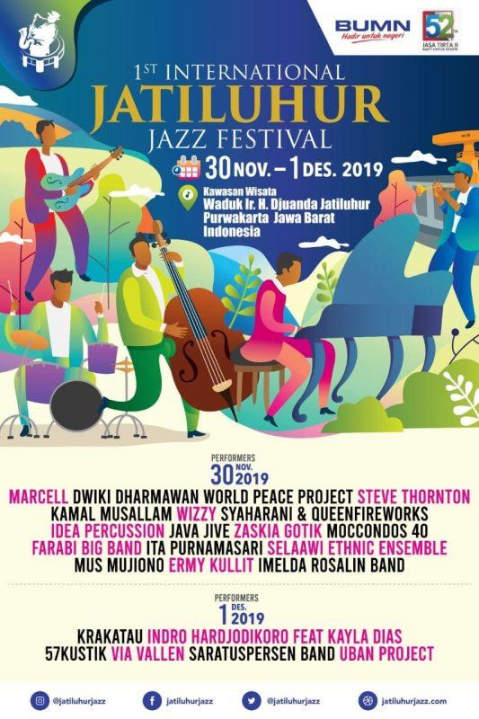 Jasa Tirta II Siap Gelar The 1St International Jatiluhur Jazz Festival 2019 1