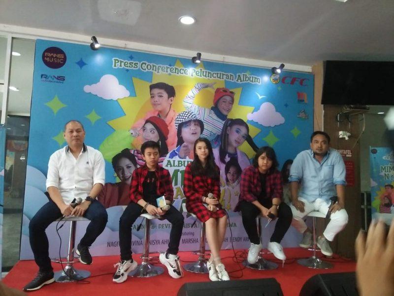 Jebolan Indonesian Idol Junior 2018 Bangga Rilis Album 'Mimpiku Jadi Nyata' 2