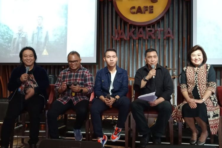 Didukung Badai Eks-Kerispatih, Rando Sembiring Luncurkan Lagu 'Cinta Jangan Pergi' 2