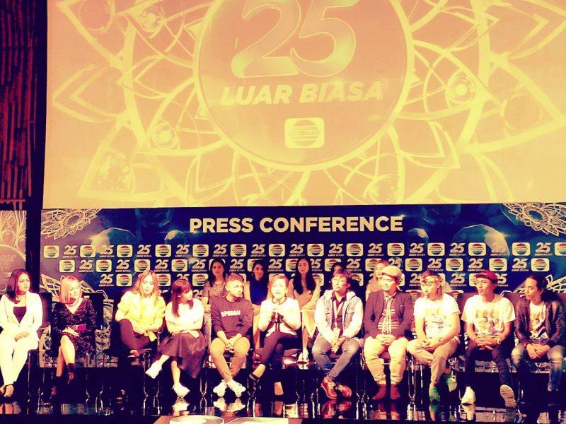 Rayakan HUT Ke-25, Indosiar Gelar 2 Puncak Perayaan, 5 Konser Luar Biasa 2