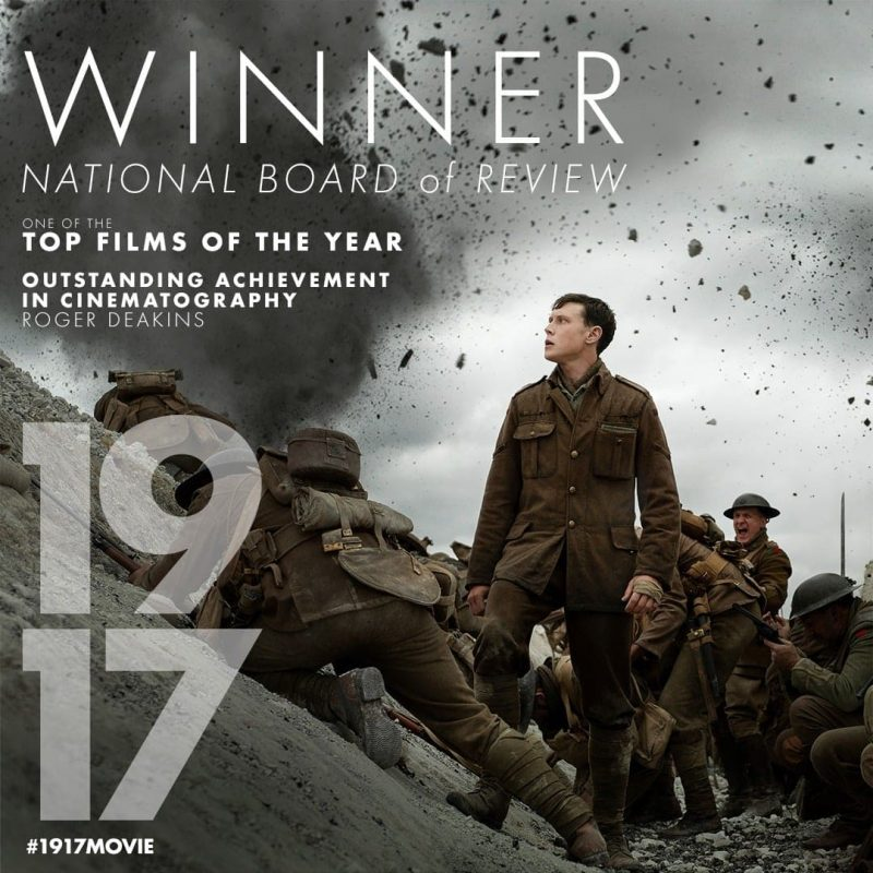 Film '1917' Karya Sam Mendes Kembali Dapat Banyak Pujian di BAFTA 1