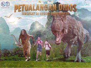 Sambut Liburan Sekolah, Teater IMAX Keong Emas TMII Putar Film Petualangan Dinos 1