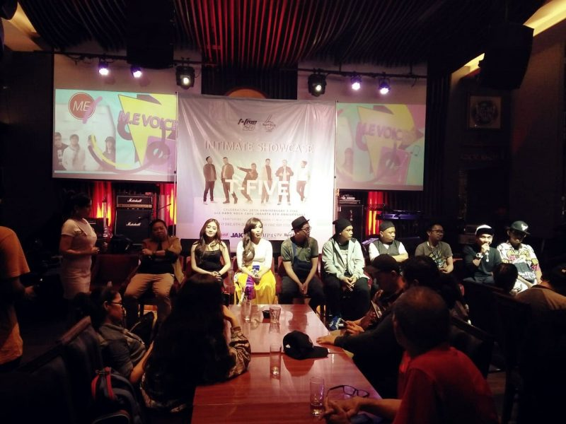 Rayakan 20 tahun Berkarya, T-Five Gelar Konser di Hardrock Cafe, Jakarta 1