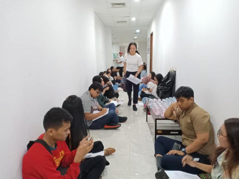 Casting Film 'Lantai 4' Dibanjiri Banyak Masyarakat 4