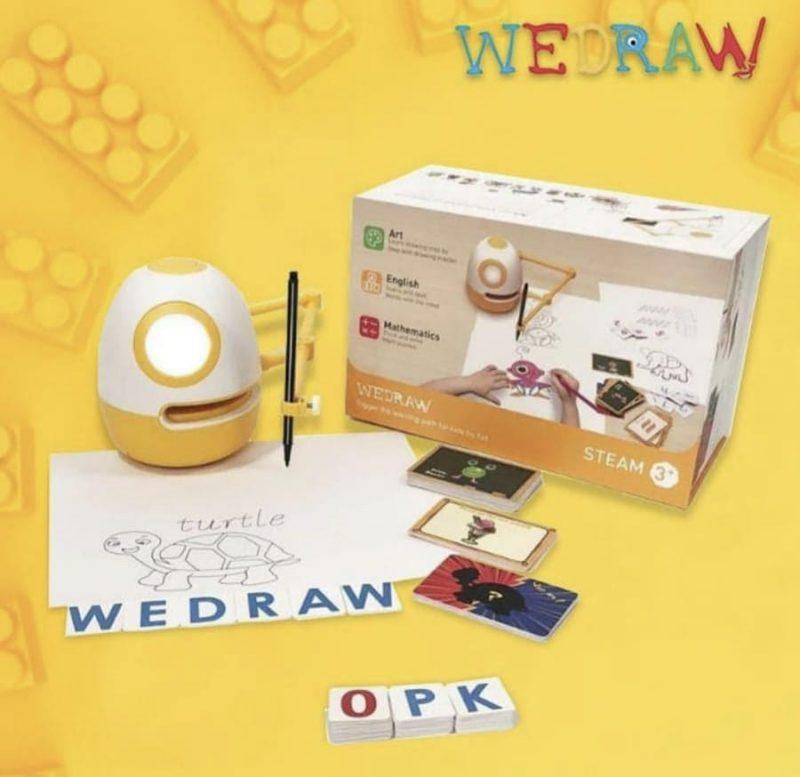 Wedraw Eggy Educational Robot, Robot Edukasi untuk Anak-anak 1