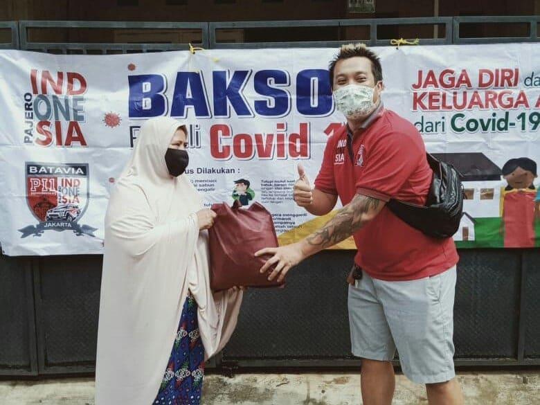 Pajero Chapter Batavia Turut Berempati kepada Masyarakat Terdampak Covid-19 2