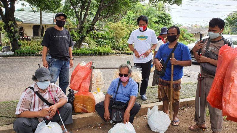 Komunitas Diaspora Singapura dan Perancis Bagi-bagi Sembako & Masker di Jabotabek 2