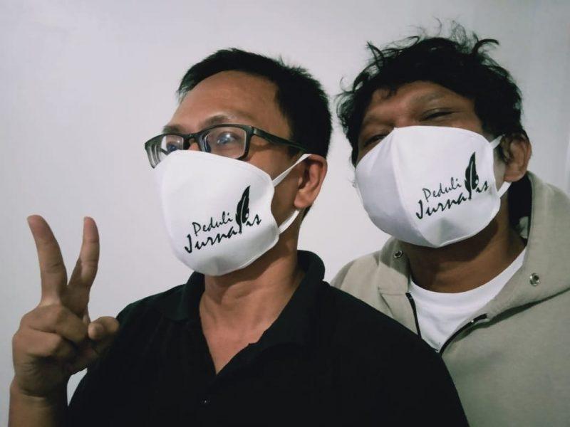 'Peduli Jurnalis' Berikan Paket Sembako Tahap Kedua Total 75 Paket 1