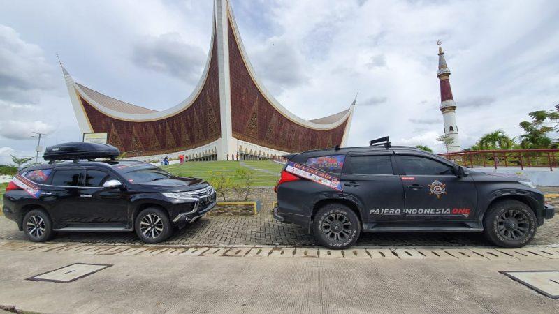 Touring Lakukan Bakti Sosial, Pajero Indonesia One Peduli Masyarakat Terdampak Pandemi 2