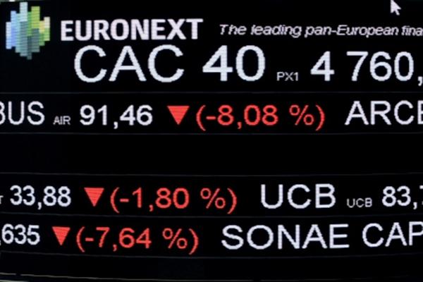 Bursa saham di Eropa - CAC 40