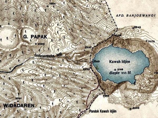 Satu Abad Dam Kawah Ijen 1