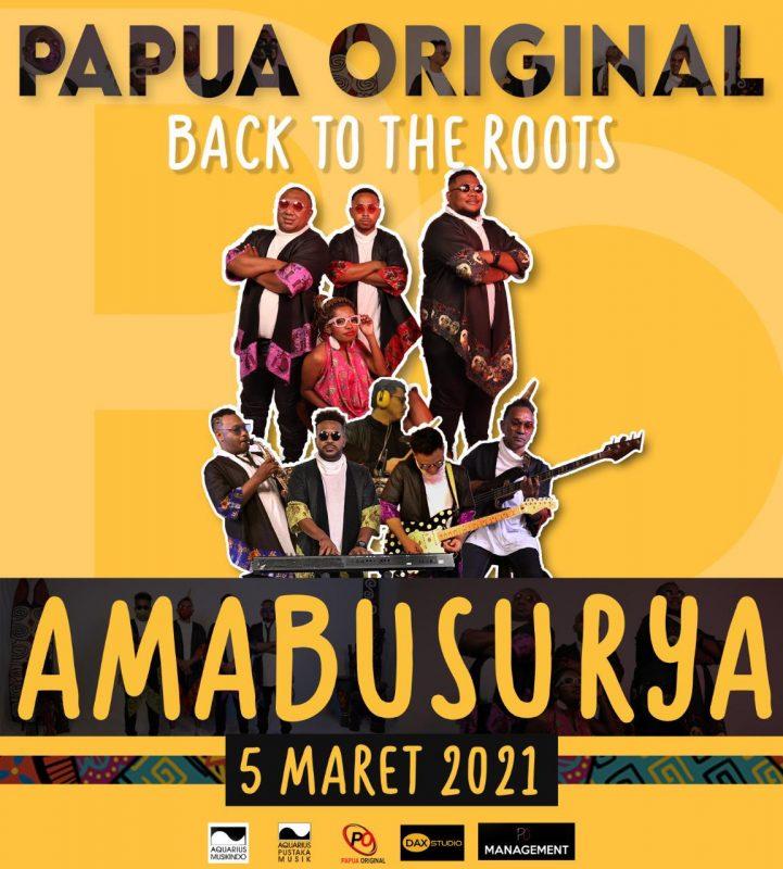Pertahankan Budaya, Papua Original Band Rilis Lagu Amabusurya 1