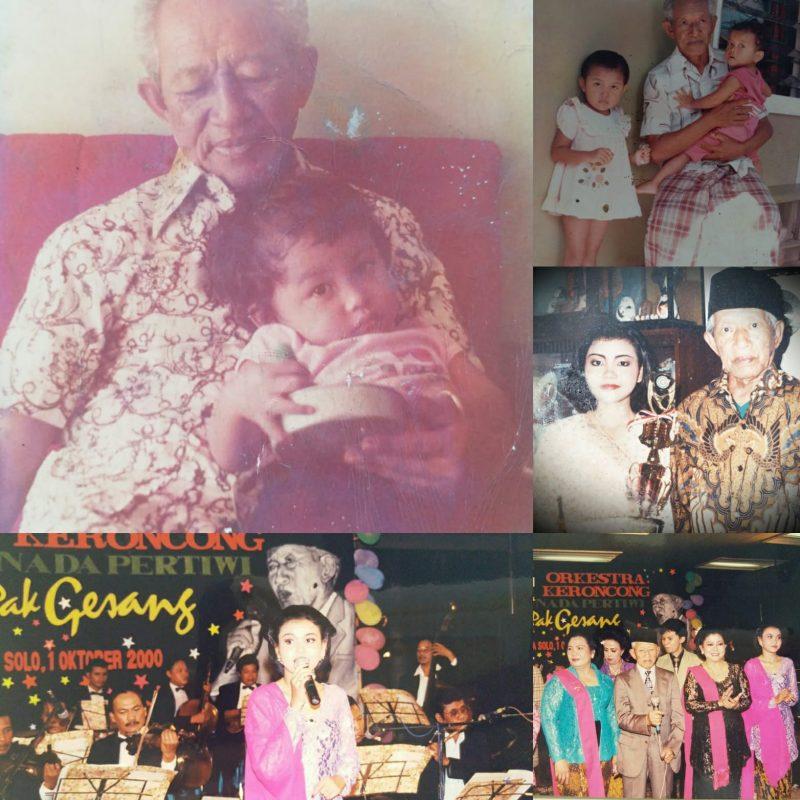 Kisah Inspiratif Asty Dewi, Cucu Angkat Gesang, Tekuni Nyanyi 1