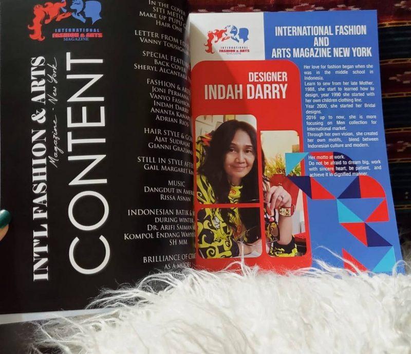 Indah Darry Optimis Fashion Designer Indonesia Go Internasional 3