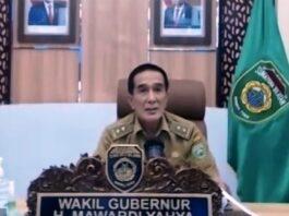 Sekretaris Pemerintah Daerah Propinsi Sumatera Selatan Akhmad Najib