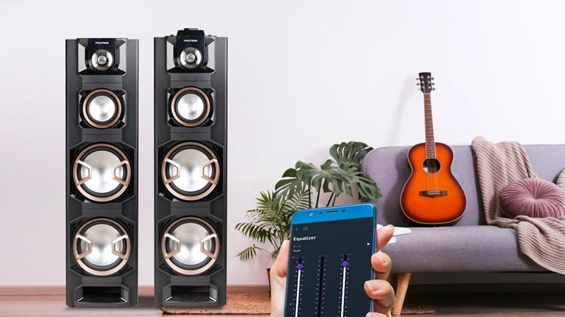 Speaker PAS 8E Series Polytron melengkapi gaya hidup digital. (Eksposisi News/Lukman Hqeem)