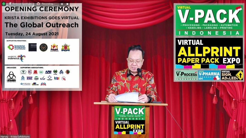 Krista Exhibitions Virtual Expo 2021 - Opening Ceremony - Daud Salim