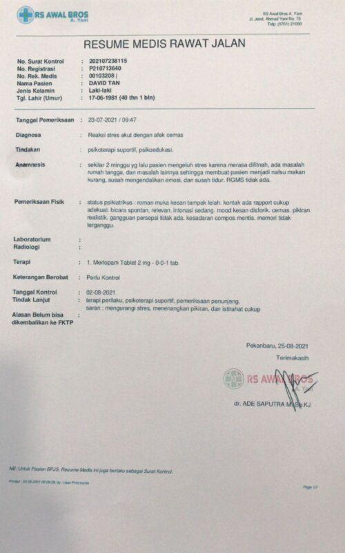Merasa Dizalimi, Pengusaha Umrah Haji Gugat Oknum Penyidik Polresta Pekanbaru 1