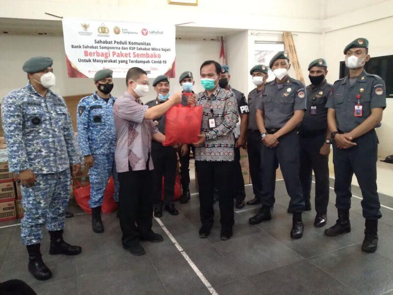 FKBN Kawal Bank Sahabat Sampoerna & KSP Sahabat Mitra Sejati Berbagi Paket Sembako 1