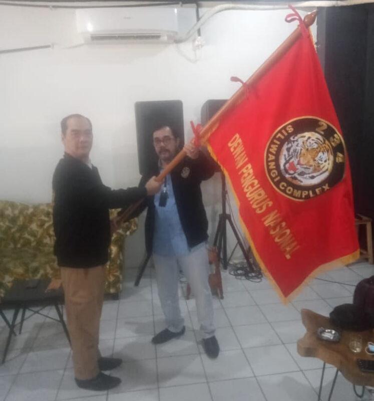 Boyke Djohan Dilantik Jadi Ketua Umum Perkumpulan 234 Siliwangi Complex 1