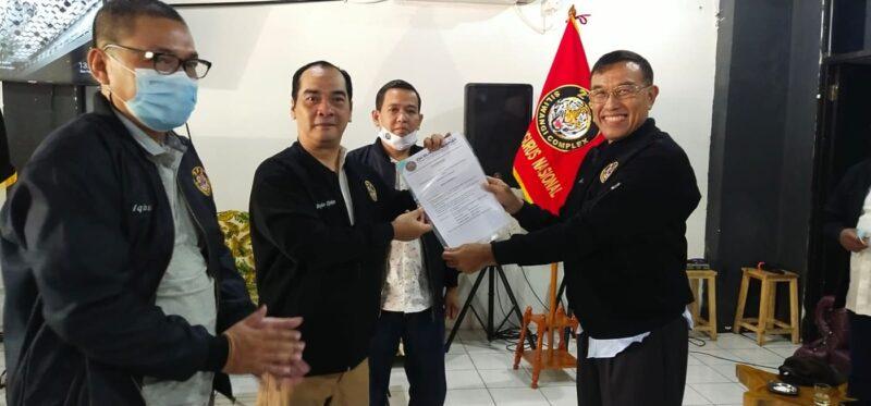 Boyke Djohan Dilantik Jadi Ketua Umum Perkumpulan 234 Siliwangi Complex 2