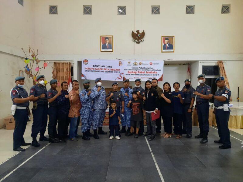 FKBN Kawal Bank Sahabat Sampoerna & KSP Sahabat Mitra Sejati Berbagi Paket Sembako 2